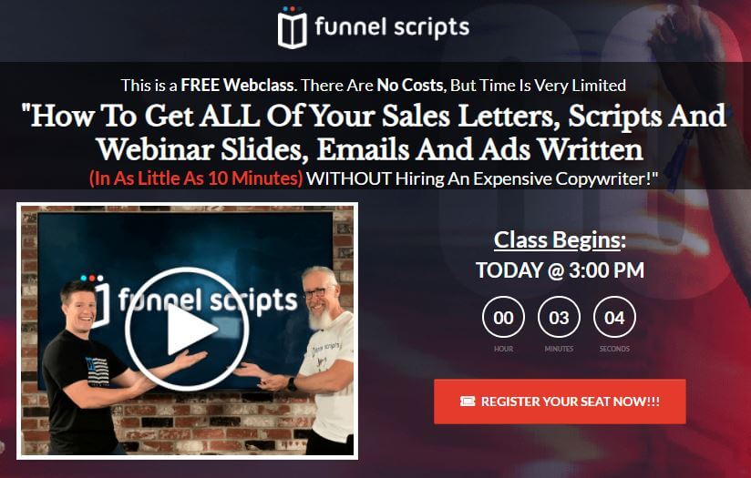 Funnel Scripts For Blog Post